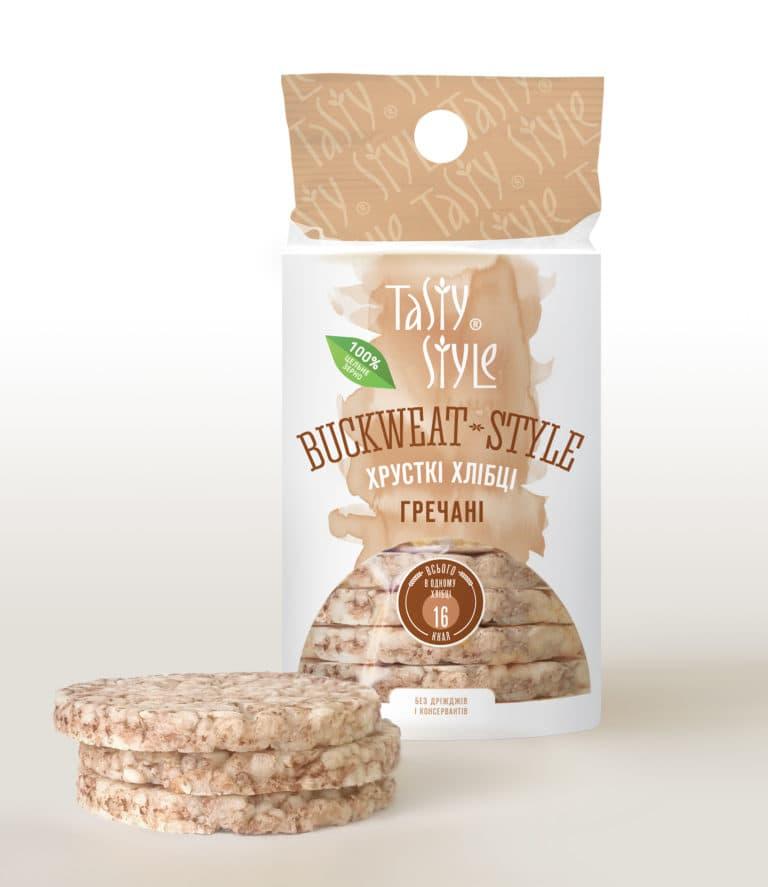 Гречневые хлебцы Buckwheat-Style