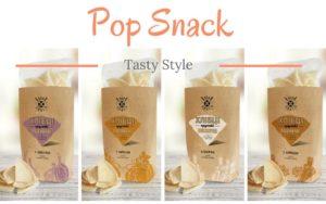 Наша компания «Мега Крисп» запустила ещё одну линейку продукции под торговой маркой Pop Snack!