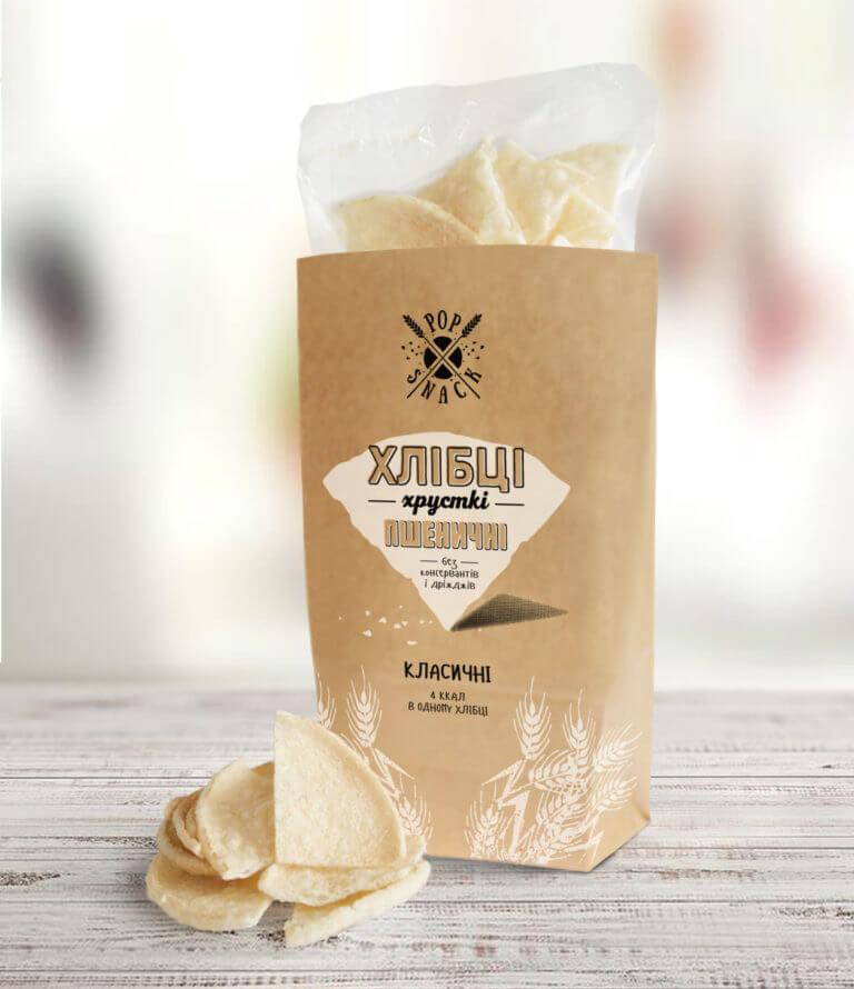 Пшеничные хлебцы классические Pop Snack