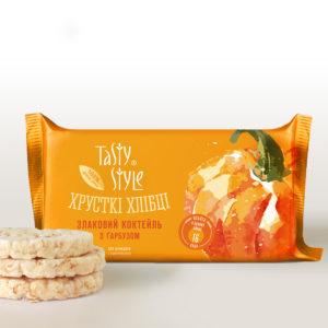 Хлебцы Tasty Style теперь в новом дизайне упаковки!