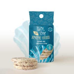 Новинка Tasty Style – хлебцы «Бурый рис с морской солью»!