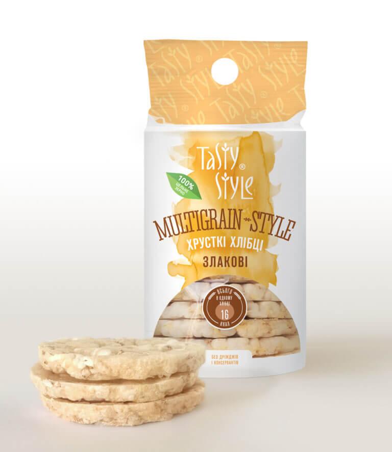 Злаковые хлебцы MULTIGRAIN-STYLE