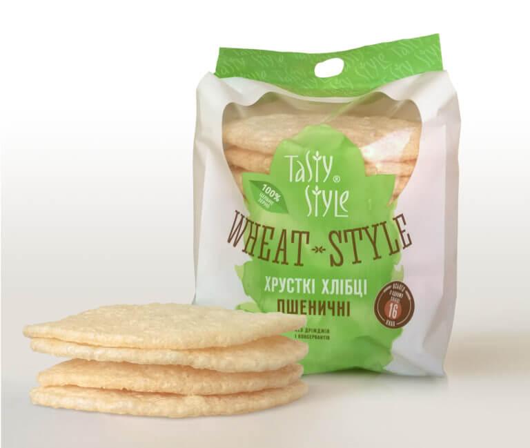 Пшеничные хлебцы WHEAT-STYLE