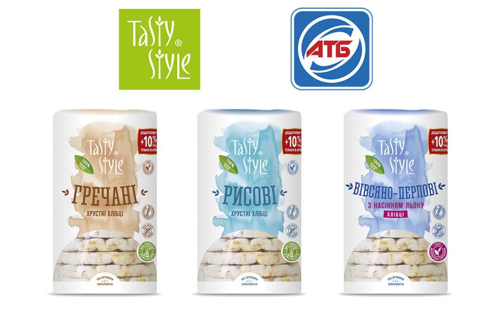 Тільки в АТБ! Рисові, гречані та вівсяно-перлові хлібці з новою вагою 110 г, але незмінною ціною