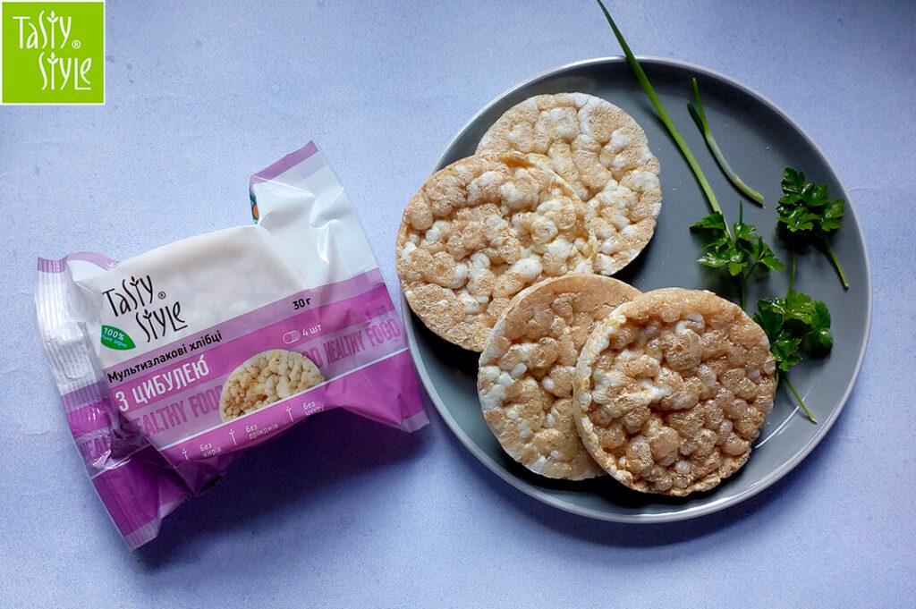 8 новинок Tasty Style – хлебцы мультизлаковые с луком