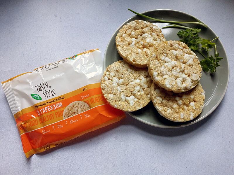8 новинок Tasty Style – хлібці мультизлакові з гарбузом